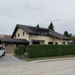 Kritina Hosekra gladka rjava - streha in nadstrešek