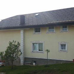 Streha gladka hosekra rjava