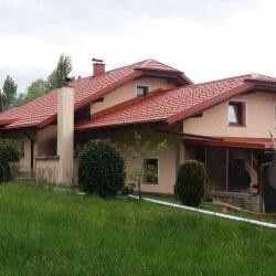 Strešna kritina hosekra gladka dvojna streha