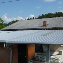 Strešne panele grafit izolacija