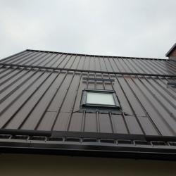 Strešna kritina paneli in strešno okno