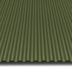 Hosekra Valmetal streha RAL 6020 MAT
