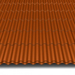Hosekra Valmetal z odtisom streha RAL 8004 MAT