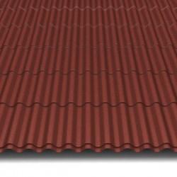 Hosekra Valmetal z odtisom streha RAL 8012 MAT