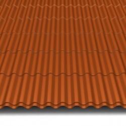 Hosekra Valmetal z odtisom streha RAL 8004