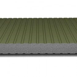 hosekra zidni panel grafit ral 6020