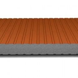 hosekra zidni panel grafit ral 8004 mat