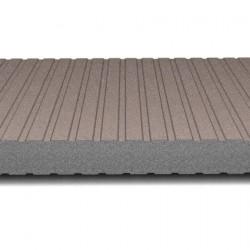 hosekra zidni panel grafit ral 8025 mat