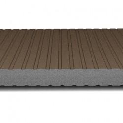 hosekra zidni panel grafit ral 8019 mat