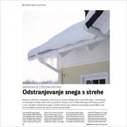2014 02 10 Odstranjevanje snega s strehe