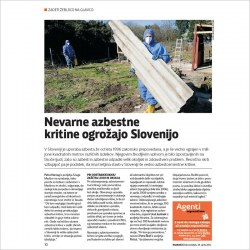 2014 04 28 Nevarne azbestne kritine ogrozajo Slovenijo